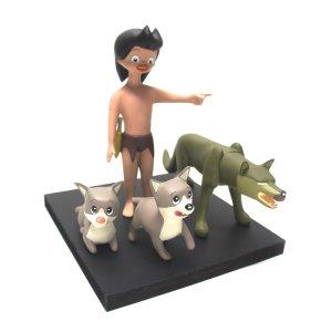 画像1: 狼少年ケン ソフビフィギュアセット
