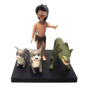 画像2: 狼少年ケン ソフビフィギュアセット