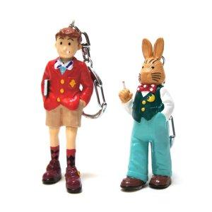 画像1: クシー君 & レプス君 マスコットキーホルダー